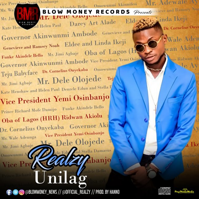 Download Music: Realzy – UNILAG (Prod. By Hanno)
