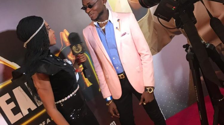 Headies Awards 2019: Realzy Looks Super Cute On The Red-carpet